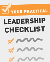Leadership Checklist Graphic