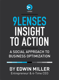 9Lenses insight to action book by edwin miller Thumbnail