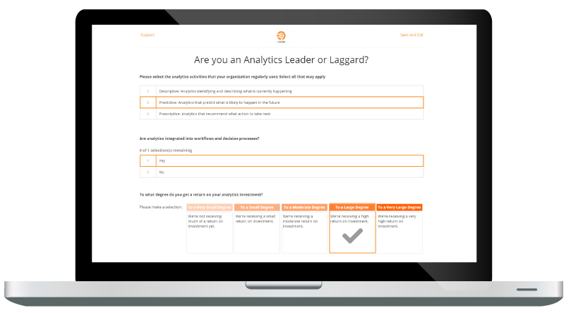 Assessment Leader or Laggard